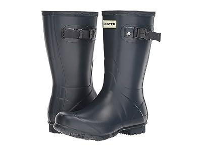 Hunter Norris Field Boot Short (Navy) Women