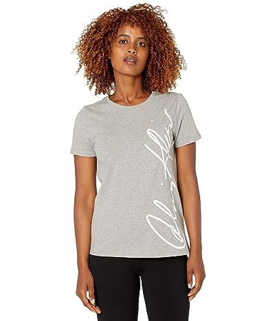 Calvin Klein Short Sleeve Fashion T-Shirt w/ Signature Logo