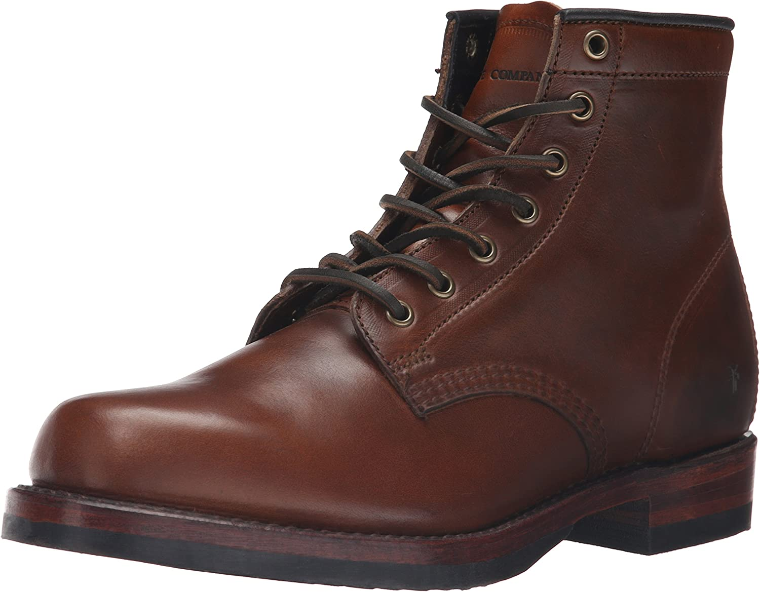 FRYE Men's John Addison Lace-Up Combat Boot
