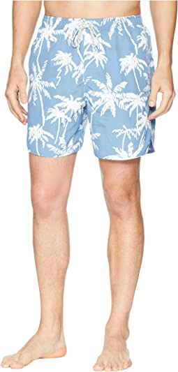 Palm Tree Volley Swim Shorts