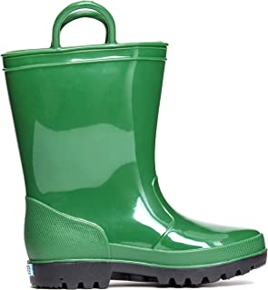 ZOOGS Kids Waterproof Rain Boots for Girls, Boys, and Toddlers