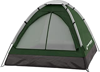 2-Person Tent, Water Resistant Dome Tent for Camping with Removable Rain Fly and Carry Bag, Lost River 2 Person Tent by Wa...