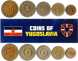هواية الملوك عملات مختلفة - العملات الأجنبية اليوغوسلافية القديمة القابلة للتحصيل لجمع الكتب - مجموعات فريدة من المال التذ...