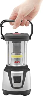 AYL Starlight 2-in-1 Water Resistant Extremely Bright LED Lantern Plus Built-in Flashlight, for Camping, Emergency, Backpa...