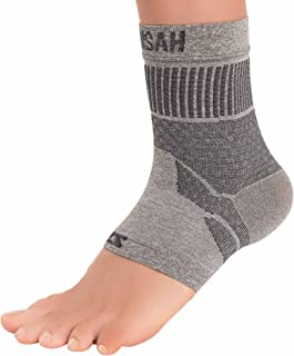 Zensah Ankle Support - Compression Ankle Brace - Great for Running,  Soccer,  Volleyball,  Sports - Ankle Sleeve Helps Sprains,  Tendonitis,  Pain