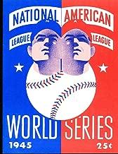 1945 Tigers vs Cubs World Series Program NM Opie Reprint