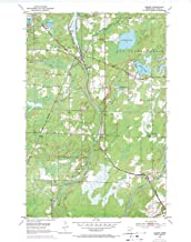 YellowMaps Alborn MN topo map, 1:24000 Scale, 7.5 X 7.5 Minute, Historical, 1953, Updated 1971, 27.23 x 21.53 in