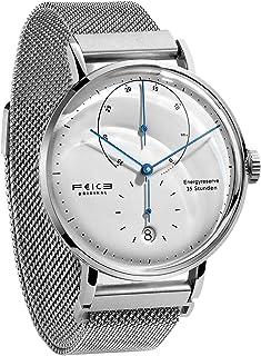 Reloj Automatico para Hombre Reloj Bauhaus Reloj Mecanico Acero Inoxidable Reloj Analogico de Moda Unisex FM202 42mm