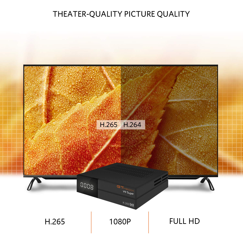 GT Media V9 Super DVB S2 Satelite Ricevitore Decodificador Oficial ...