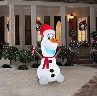 6ft inflatable olaf