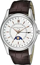 Frederique Constant Geneve Index Clear Vision FC-330V6B6 Reloj Automático para Hombres Indicador de la Fase Lunar