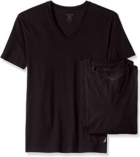 Nautica Men's Cotton V-Neck T-Shirt-Multi Packs