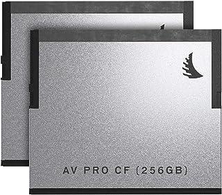 Angelbird 2x AV PRO CF 256GB Memory Card Match Pack for Blackmagic Design URSA Mini Cameras