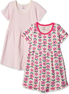 Touched by Nature Girls, Toddler, Baby and Women's Adult Organic Cotton Short Long-Sleeve Dresses
