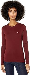 Women's Long Sleeve Baby Tee Shirt