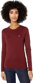 Levi's Women's Long Sleeve Baby Tee Shirt