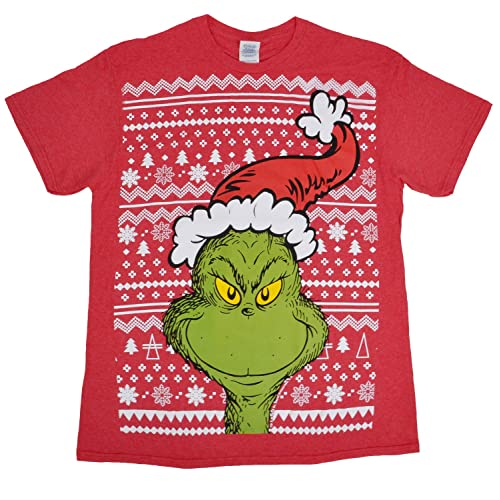 3755e943e Dr. Seuss The Grinch Merry Grinchmas T-Shirt Christmas Tee