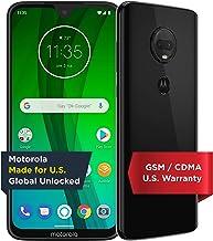 Moto G7 with Alexa Hands-Free – Unlocked – 64 GB – Ceramic Black (US Warranty) – Verizon, AT&T,...