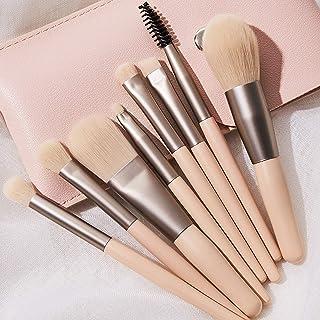 JOYAUS 8 Pcs Makeup Brush Set Professional Face Eye Shadow Eyeliner Foundation Blush Lip Make up Brushes Powder Cosmetics ...