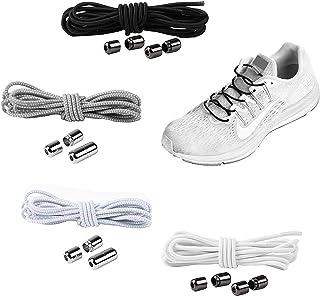 comprar comparacion YAVO-EU Cordones elásticos Sin Nudo para Zapatillas (4 piezas 4 colores) para Maratón y Triatlón Atletas,Corredores,Niños,...