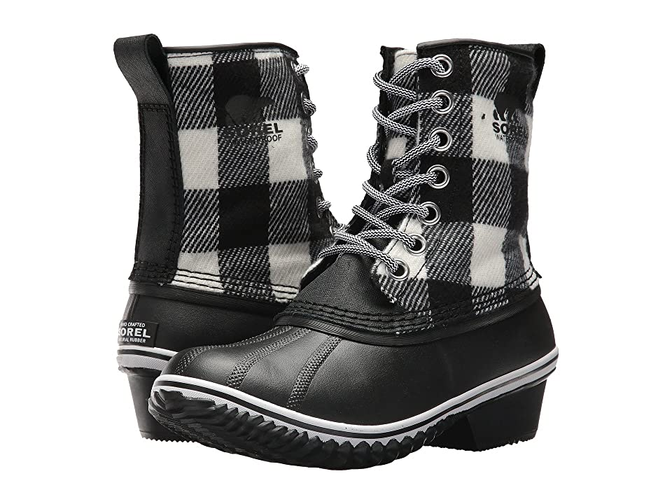 SOREL Slimpack 1964 (Black/White) Women