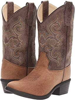 Old West Kids Boots J Toe Vintage (Toddler/Little Kid)