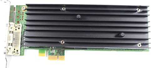 256MB DDR2 PCI Express x1 Graphic Card For Dell NVIDIA Quadro NVS 290 0X1TX