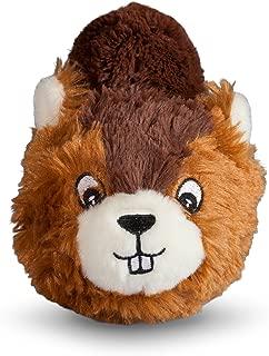 fabdog Beaver faball Squeaky Dog Toy