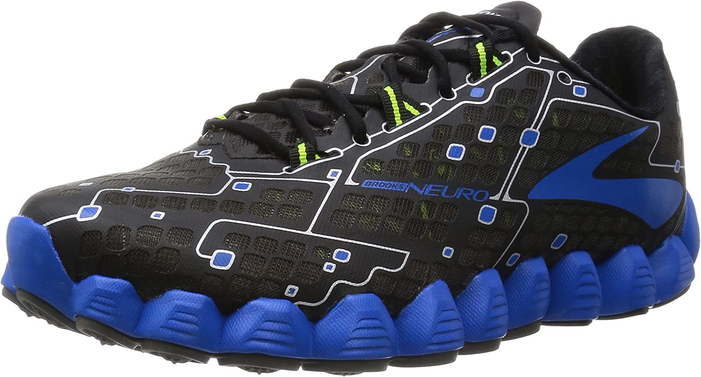 Brooks Brooks Neuro Schwarze und Blaue-Schuhe Running  bis zu 42% Rabatt