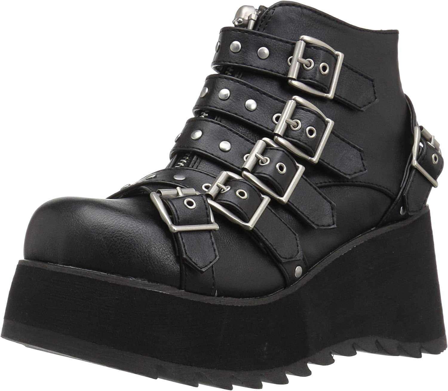 Demonia Womens SCENE-30 Ankle Boot