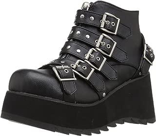 demonia by pleaser zip off boots