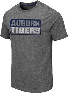 Colosseum Men's NCAA Athletic T Shirt - Tagless Mens Tech Tee-Charcoal Grey