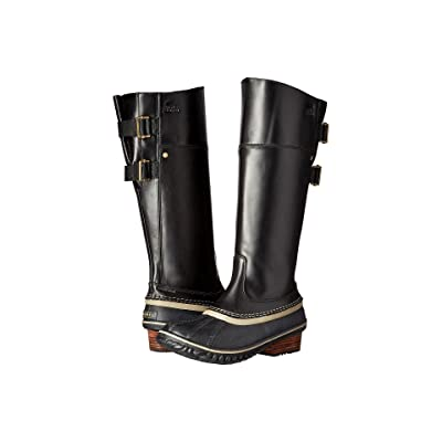 SOREL Slimpack Riding Tall II (Black) Women