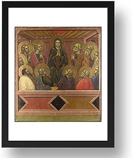 Barnaba da Modena: Pentecostés, arte vintage, reproducción A3 en 17x13