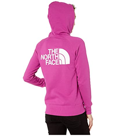 The North Face Half Dome Full-Zip Hoodie (Wild Aster Purple) Women