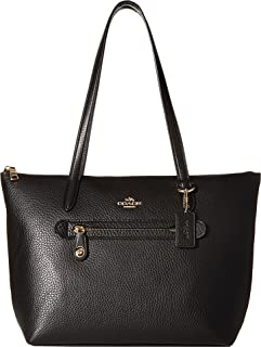 COACH Womens Pebbled Taylor Tote