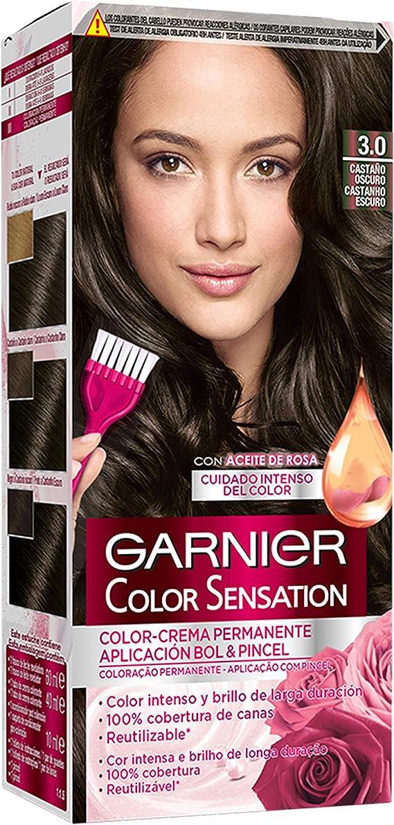 Garnier Color Sensation - Tinte Permanente Chocolate 4.15 ...