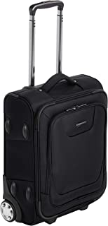 AmazonBasics Premium Upright Expandable Softside Suitcase with TSA Lock