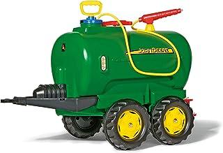 Rolly Toys rollyTanker John Deere Tankwagen für Kinder 3-10 Jahre, mit Pumpe und Spritze, 30 Liter, Auslaufhahn 122752