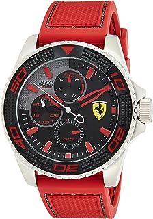 Ferrari Kers Xtreme Men's Black Dial Silicone Band Watch - 830469