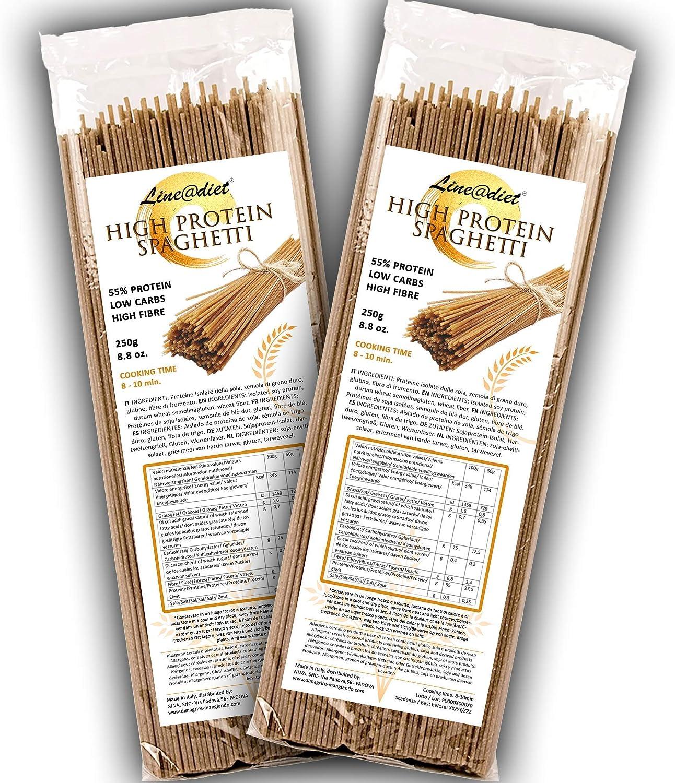 Spaghetti semiacabados 55% de proteína | Pasta que es ...