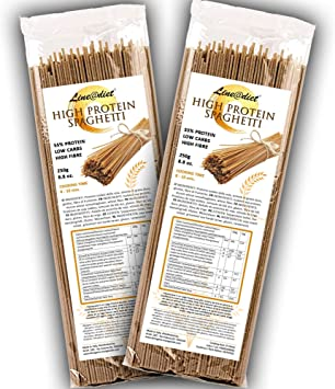 Spaghetti semiacabados 55% de proteína   Pasta que es amiga ...