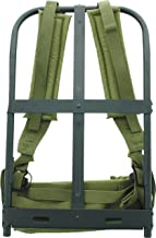 New Black Military Alice Pack Frame with Olive Drab Suspender Straps & LC-1 Kidney Pad