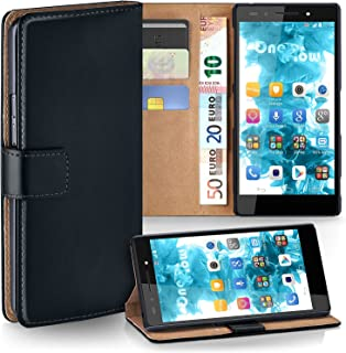MoEx Huawei Honor 7 | Phone Case with Wallet 360 Degree Book Phone Cover with Card Holder - Black
