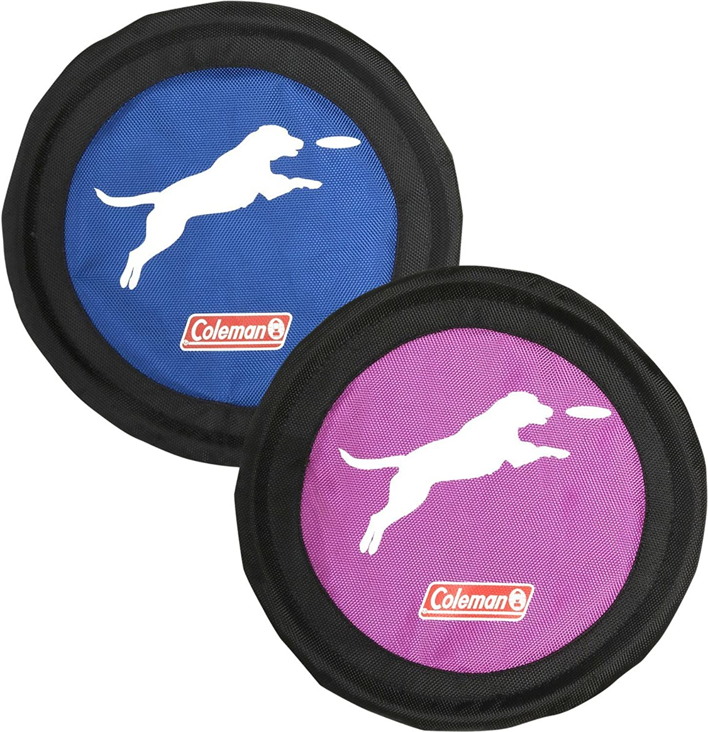 Coleman Dog Flying Disc Frisbee, bluee Purple'