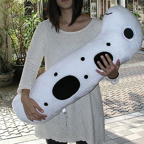 Okkii Pillow [gesichtet Garten Aal XL] 85cm
