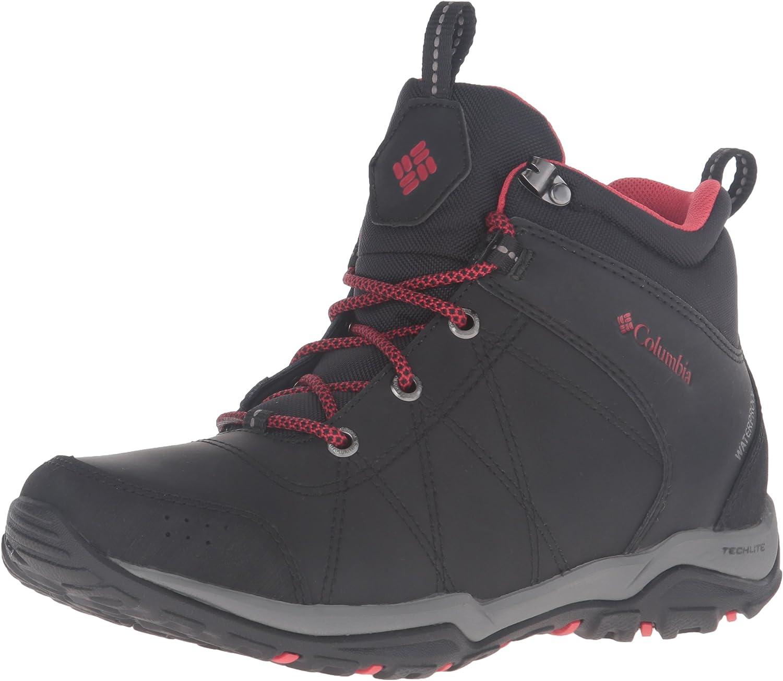 Columbia Women's Fire Venture Waterproof Mid Hiking Boots