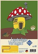 Pebaro Fretwork Mushroom Cottage Artwork