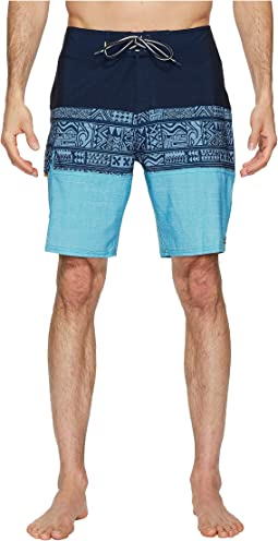 Quiksilver Waterman - Fairway Tri Block Boardshorts