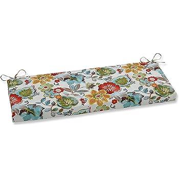 Pillow Perfect Risa Cojín Para Banco O Columpio 48 X 18 Pulgadas Color Dorado Home Kitchen